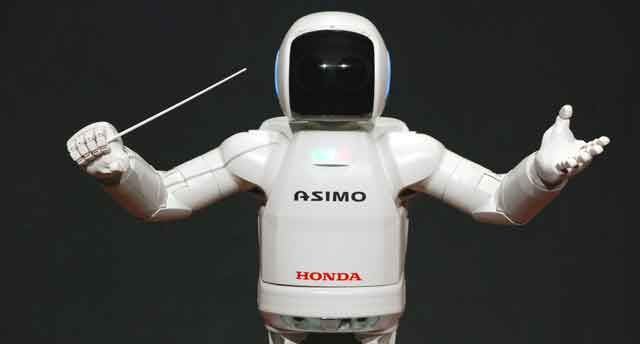 AI in business example asimo honda
