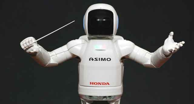 AI in business example asimo honda
