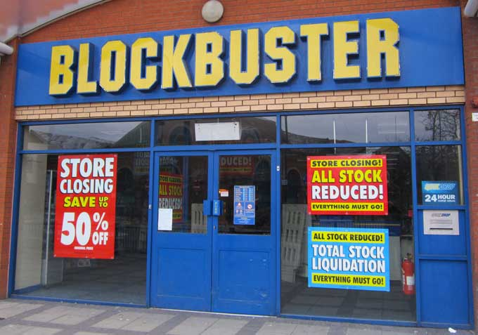 Blockbuster marketing mistake