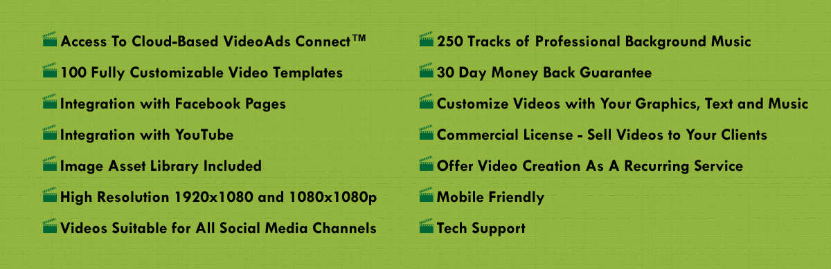 Features review videoads connect