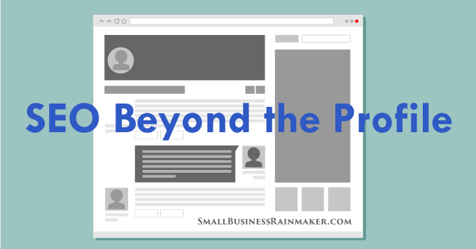 LinkedIn SEO beyond the profile