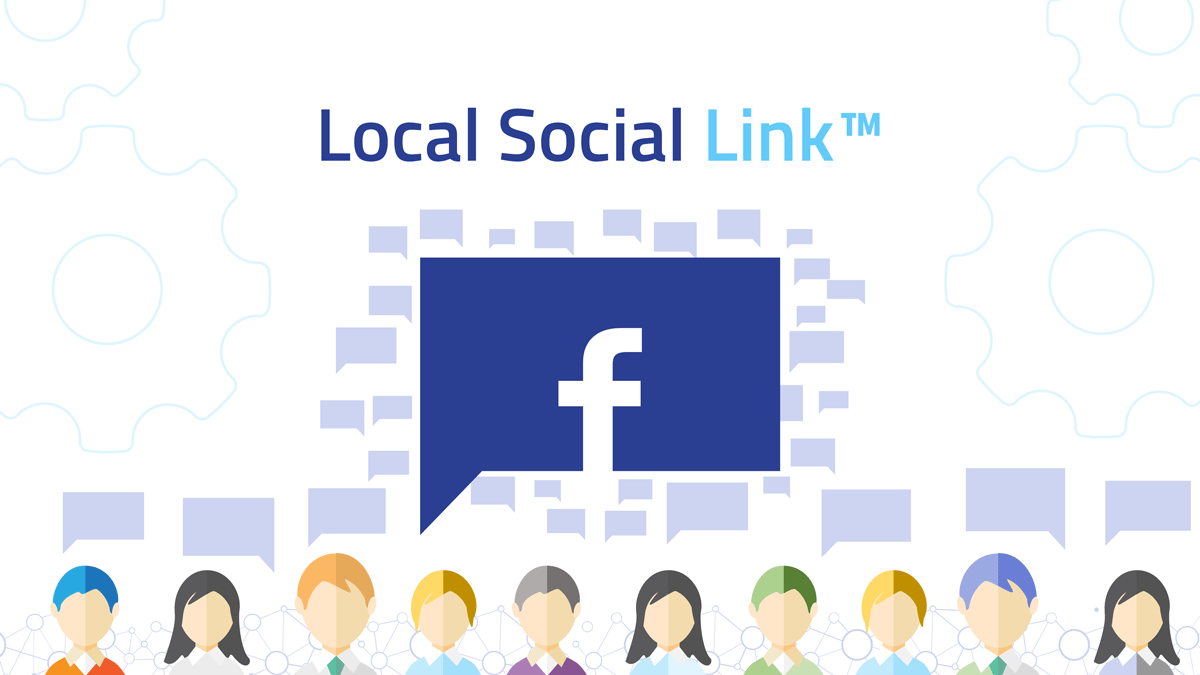 Local Social Link visual content campaigns for Facebook