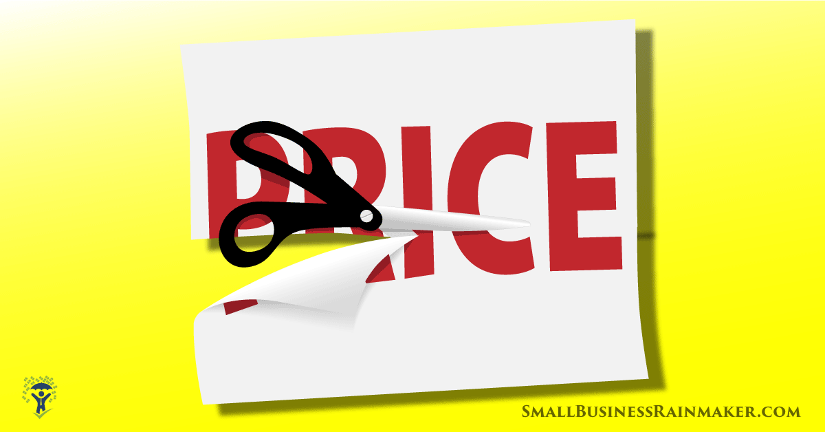 Price cutting strategy