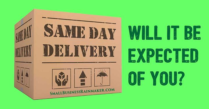 Same day delivery all small businesses