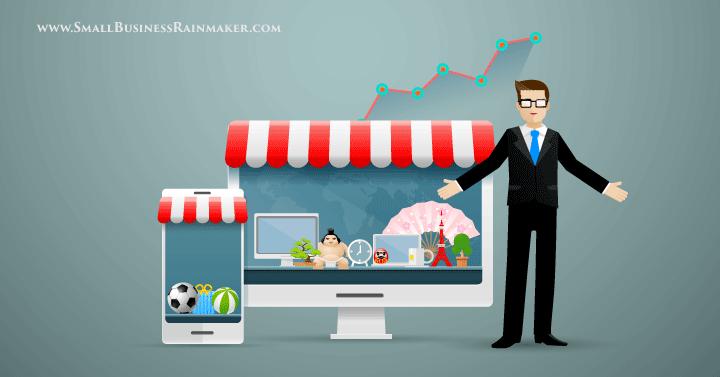 advantages disadvantages online presence small business