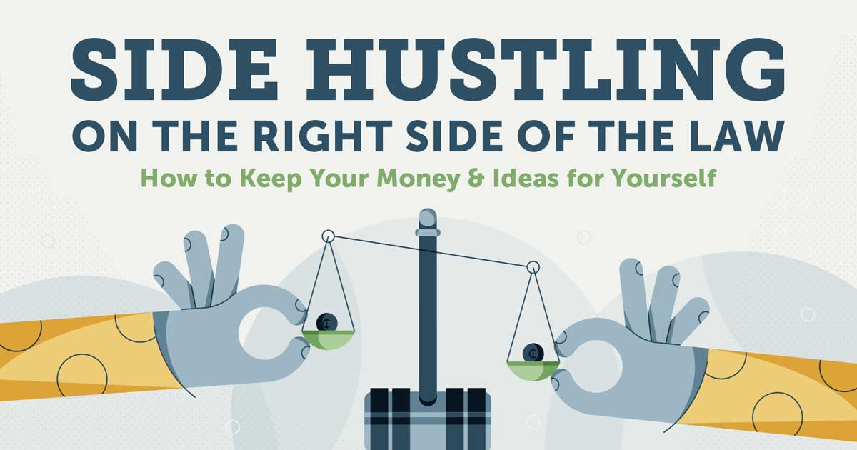 avoid legal trouble with side hustle
