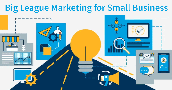 big league marketing for small business