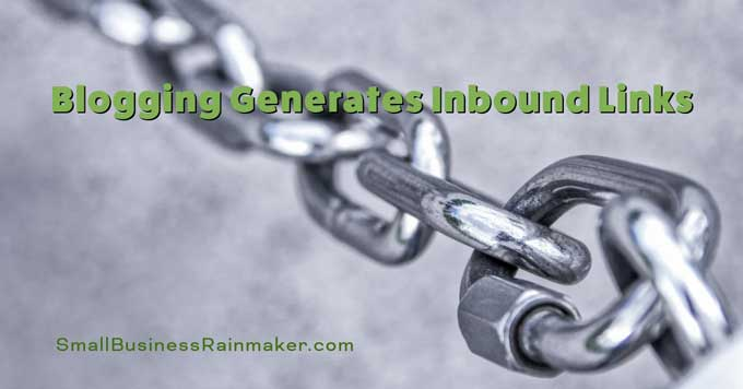 blogging generates inbound links
