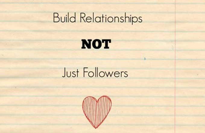 build relationships social media strategy