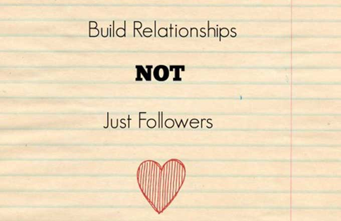 build relationships social media strategy