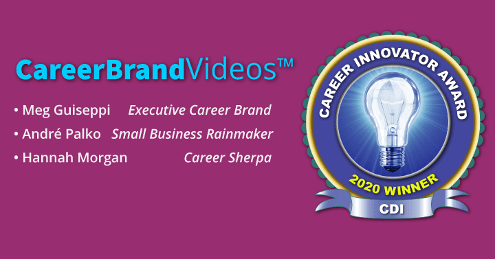 career innovator award careerbrandvideos