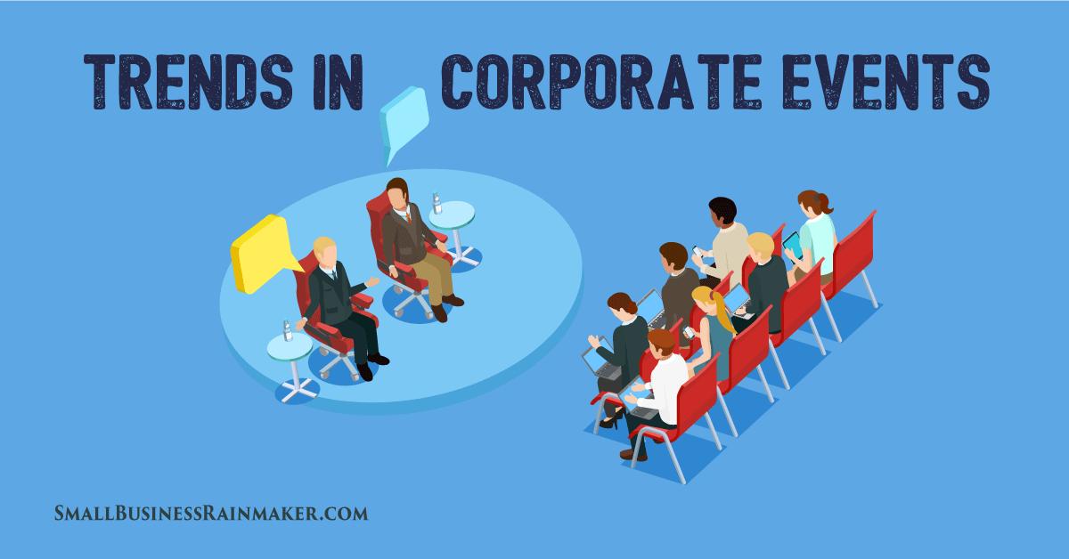 corporate event trends