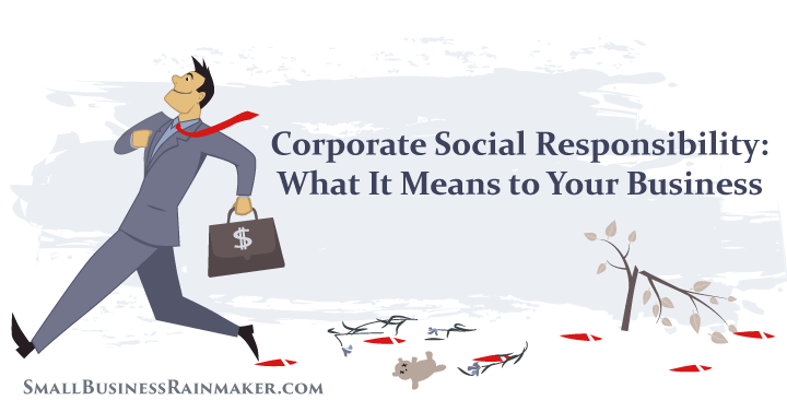corporate social responsibility in small business