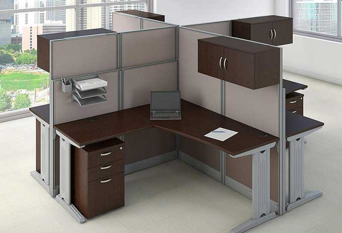 cubicles in the modern workforce