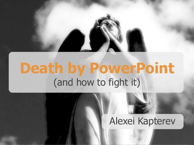 visual content marketing slideshare slideshow death by powerpoint