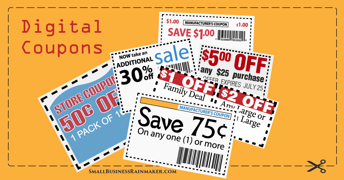 digital coupons for sales growth