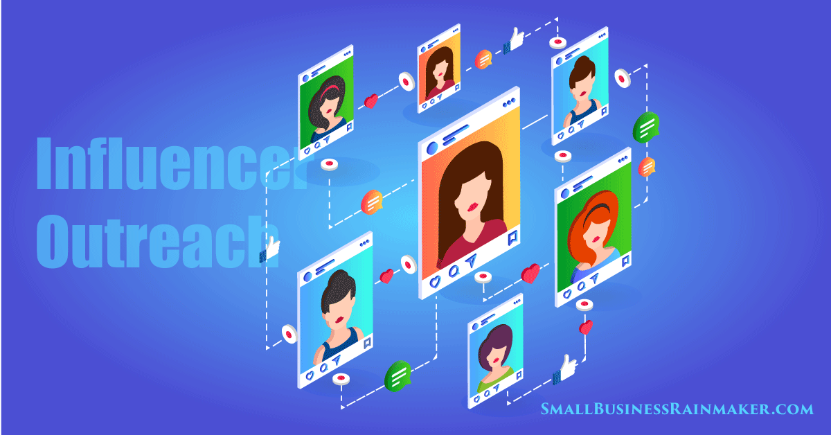 drive traffic using influencer outreach and relationships
