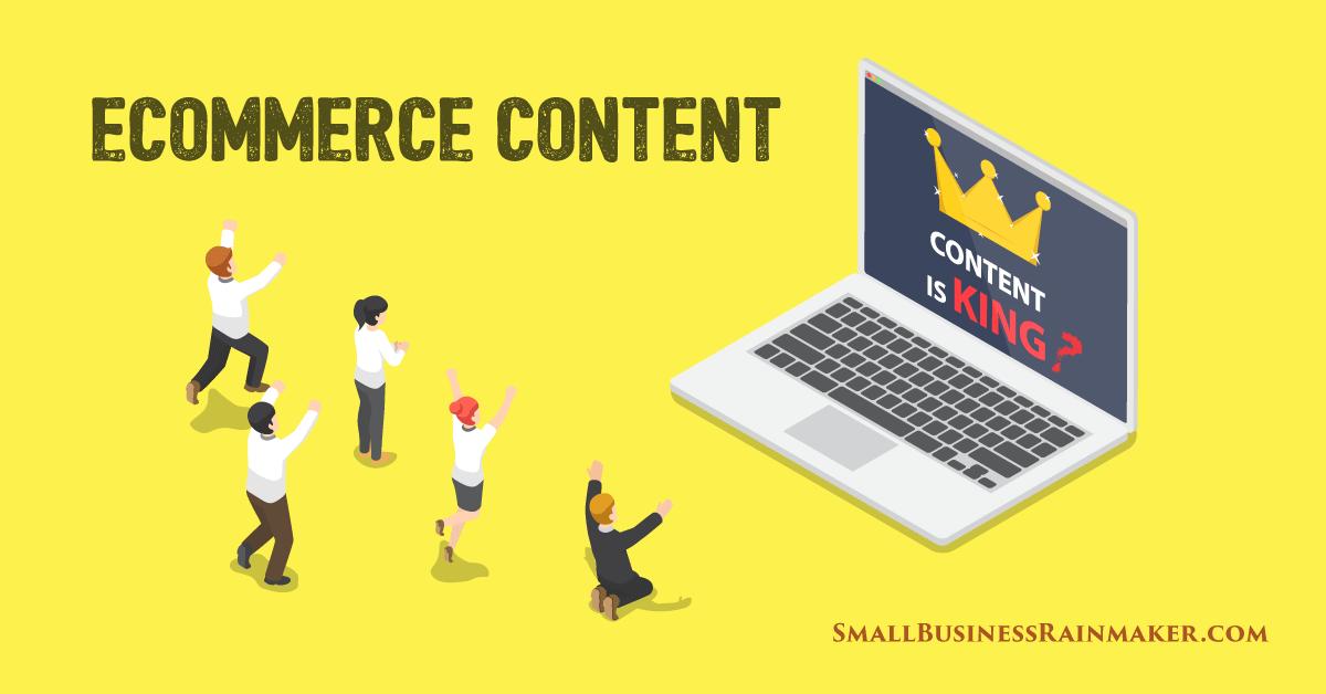 ecommerce content marketing tactics new businesses