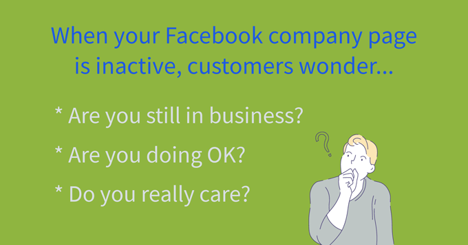 effects of inactive local business facebook page