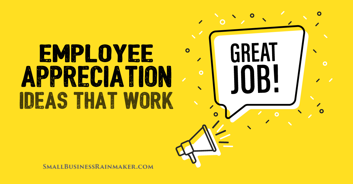 employee appreciation ideas that work