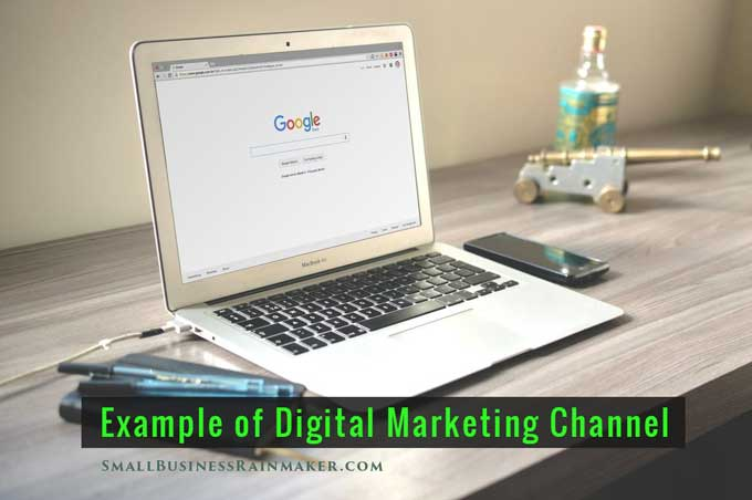 example digital marketing channel