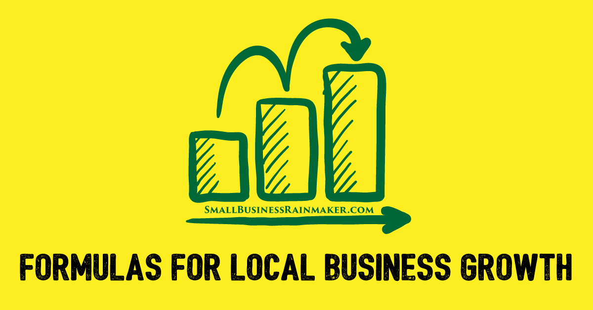 formulas for sales growth local business