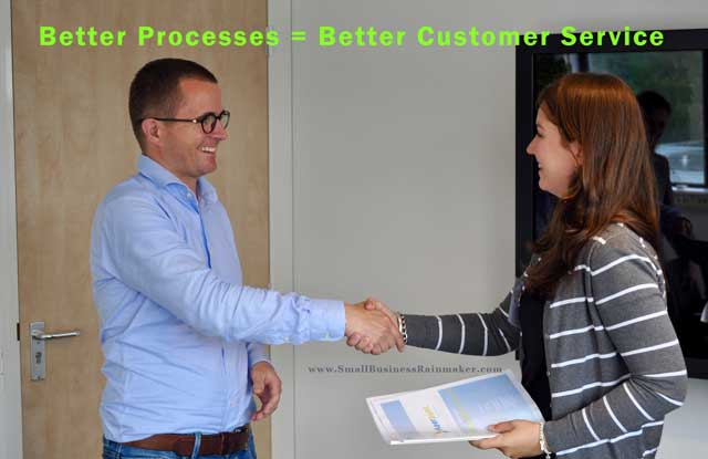 good processes means better customer service