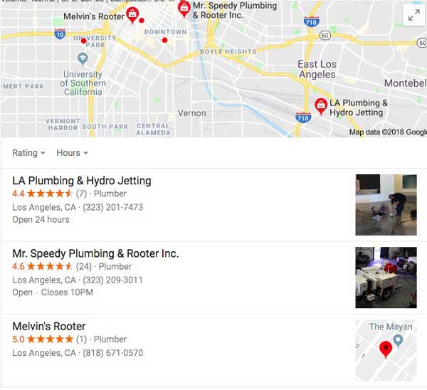 google 3-pack local search optimization
