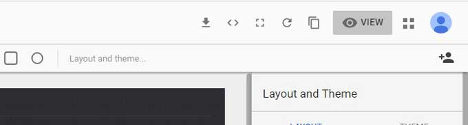 google data studio preview
