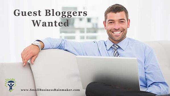 guest bloggers wanted small business writing opportunities