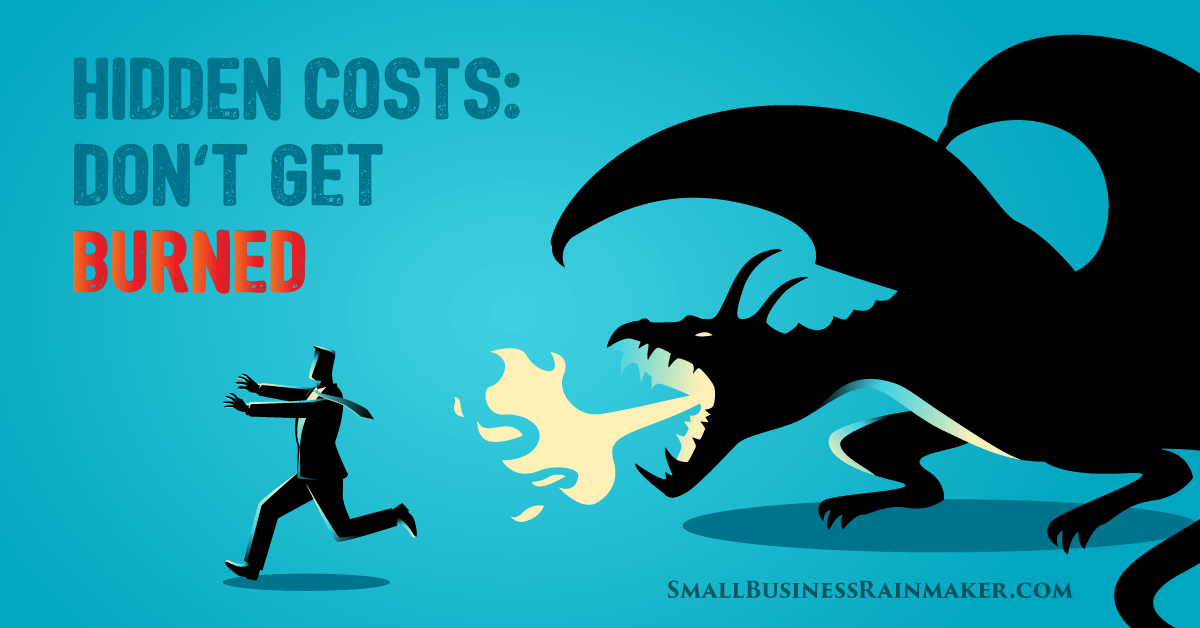 hidden costs of running a business
