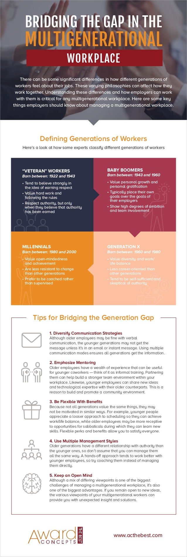 5 Tips on How to Bridge the Gap in a Multi-Generational Workforce