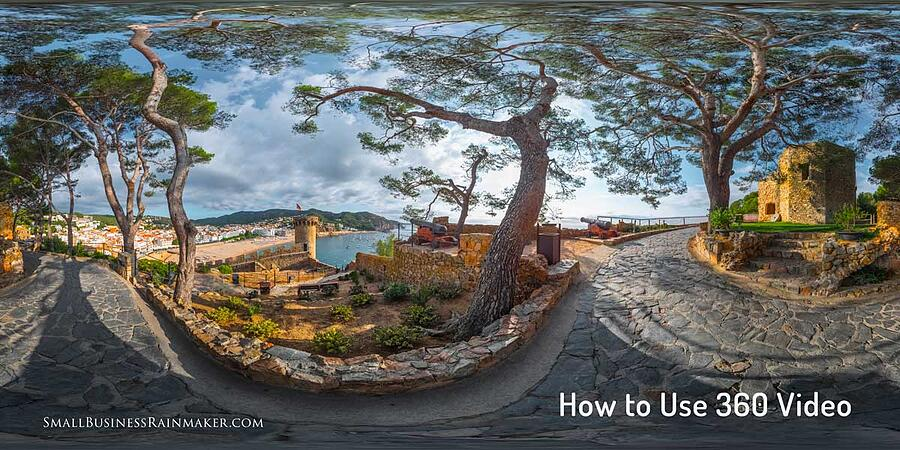 how to use 360 video