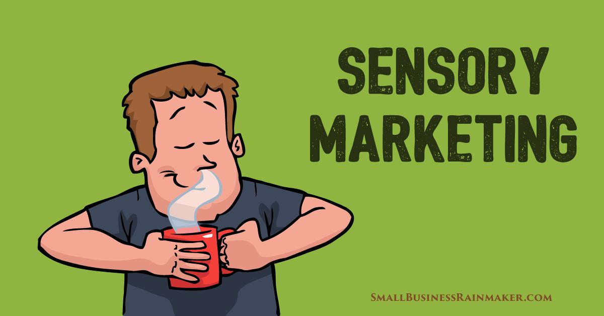 how to use sensory marketing