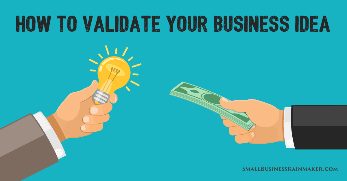 how to validate business ideas