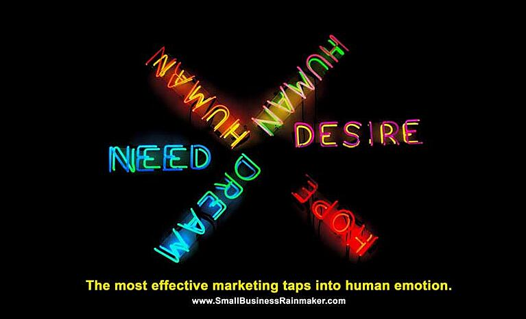 the best marketing taps into human emotions