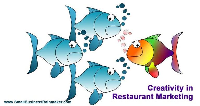 creativity in restaurant marketing