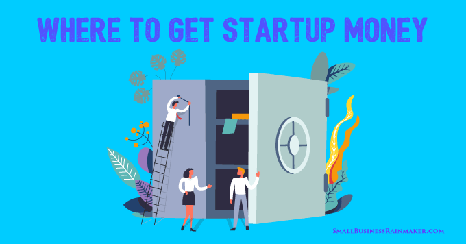 how to finance small business startup