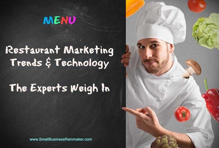 whats happening restaurant marketing this year