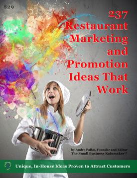 237 restaurant marketing ideas that work