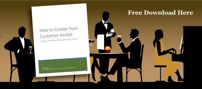 how to create restauran customer avatar (buyer personas)