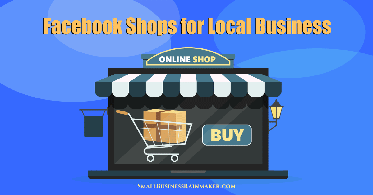 how to set up facebook shops page