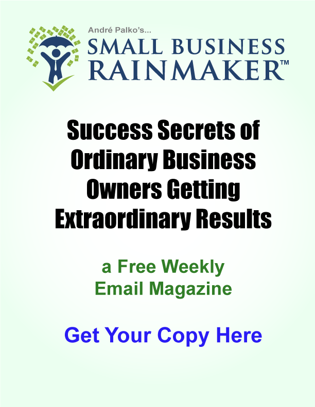 Small Business Rainmaker Newsletter