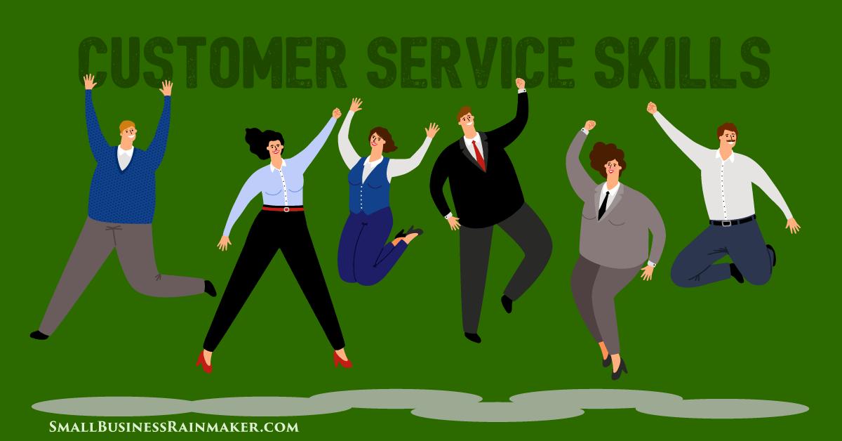 importance of customer service skills