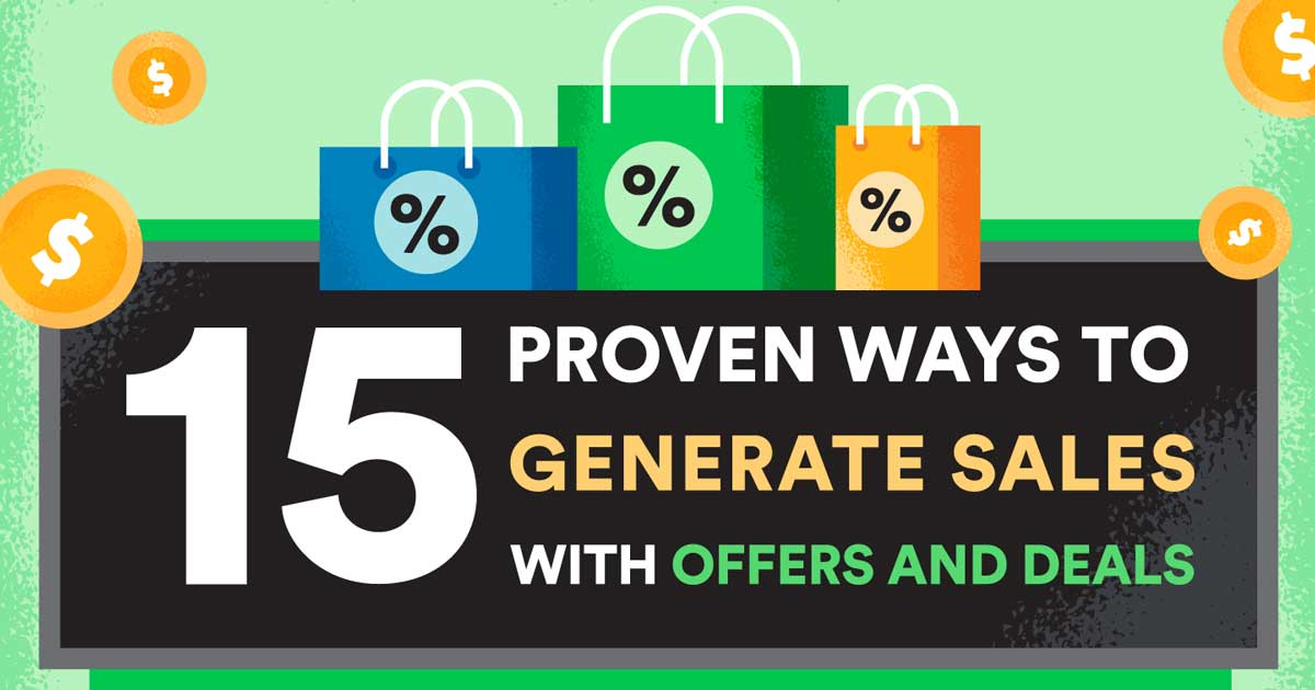 increase sales revenues with special offers