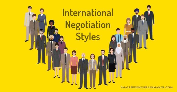 international negotiation strategies going global