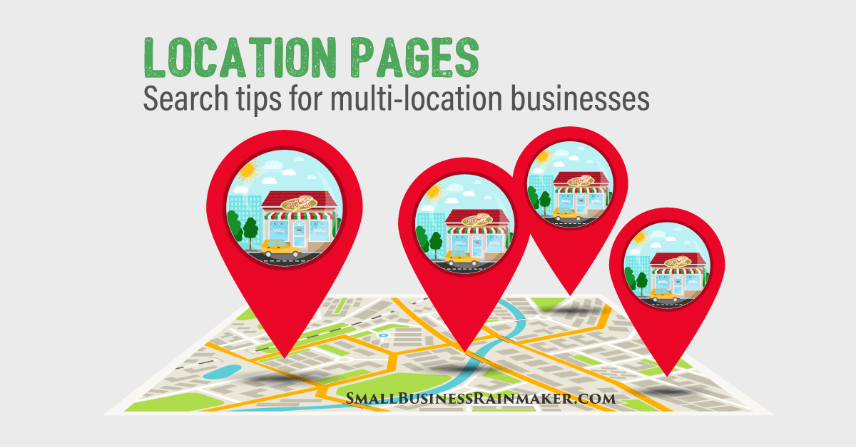 location pages and local seo