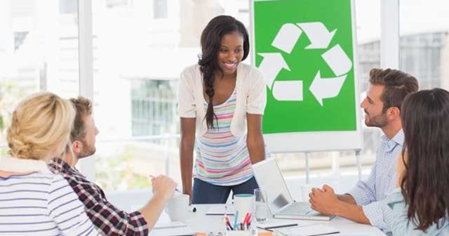 make business recycling a priority
