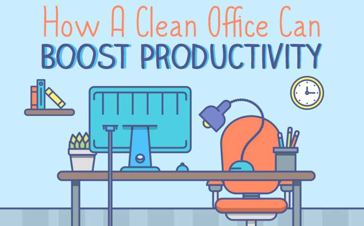 make your business more productive by cleaning your offices