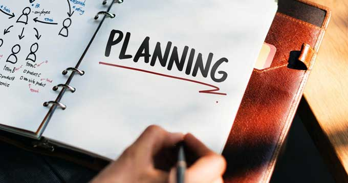 planning increases business efficiency